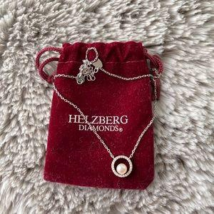 Helzberg Sterling silver necklace